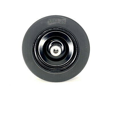10x3.25 Solid Finish Mower Wheel With 34id