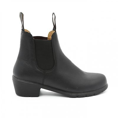 NEW Blundstone Style 1671 Black Heeled Boot Leather For Women