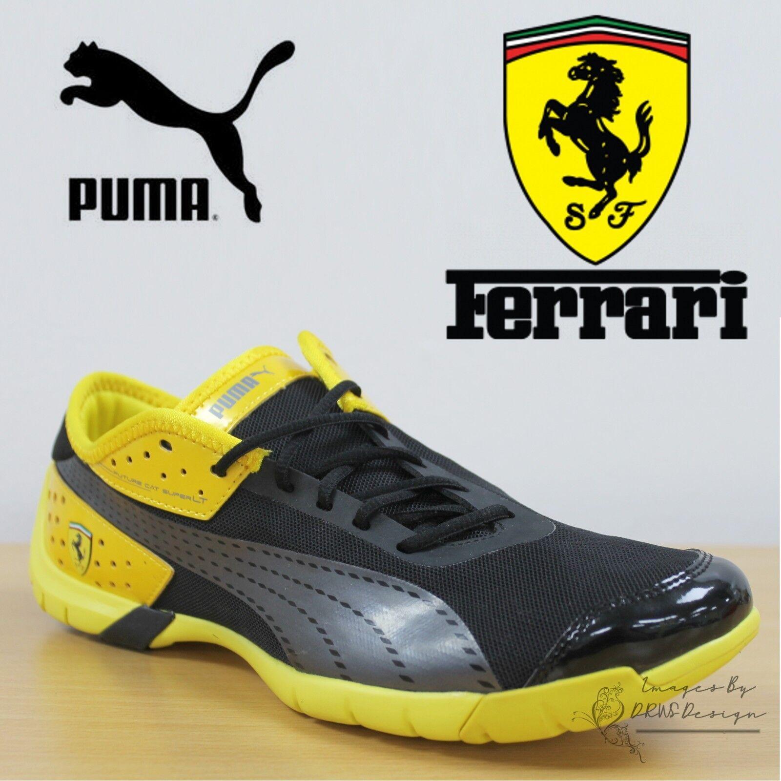 c5831a57de7307 PUMA Unisex Trainers Future Cat Super LT Scuderia Ferrari F1 Sneakers  304427 02