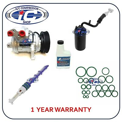 A/C Compressor Kit Fits Jeep Grand Cherokee 1999-2001 L6 4.0L 10PA17E 77379