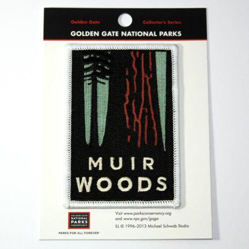 Official Muir Woods National Monument Souvenir Patch California Park Redwoods
