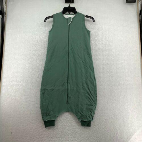 Kyte Unisex Baby Sleeveless Solid Green Full Zipper Sleep Walker Size 18-36 M