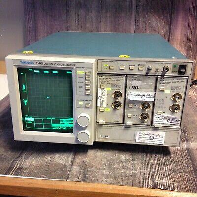 Tektronix 11401 500 Mhz Programmable Digitizing Oscilloscope 2 11a33 A1132