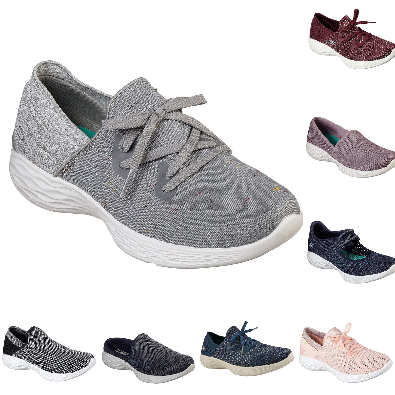 NEU SKECHERS YOU Damen Sneakers Turnschuhe Freizeitschuhe Sport Walking Leicht