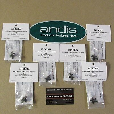 Andis Clippers Parts >>You Get 6>>Blade Drive fits AG, AGC, AGR, AGRC, AGCL, BGC