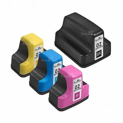 4pk black and color 02 printer ink