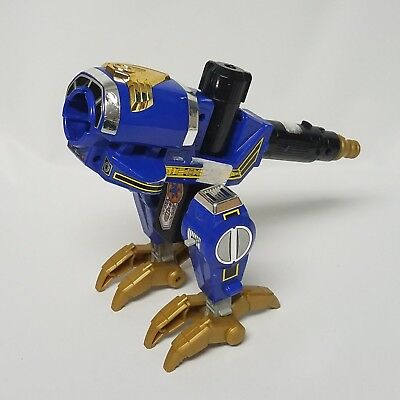 Power Rangers LightSpeed Rescue Bird 1999 Bandai Blue Gold Talons Weapon