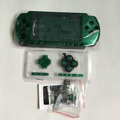 Brandneu Gehäuse Hülle Case Faceplate Ersatz für Sony PSP 3000 console-Grün   Sony Faceplate Case
