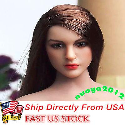 Kimi Toys 1 6 Kt005 Female Head Sculpt Model  F  12  Ht Verycool Phicen Body Usa