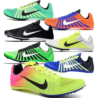 Mens Field Spikes - New NIKE ZOOM D Mens Track & Field Spikes Distance Running Racing Shoes