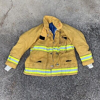 Firefighter Turnout Jacket Coat Cairns Size 5032 Pre-owned