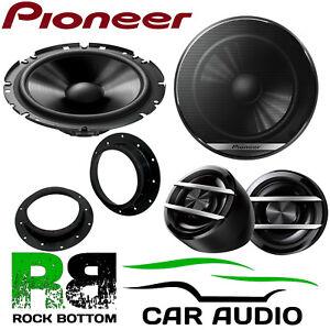 Pioneer Volkswagen Golf MK5 MK6 2003 On 600W Component Front Door Car Speakers