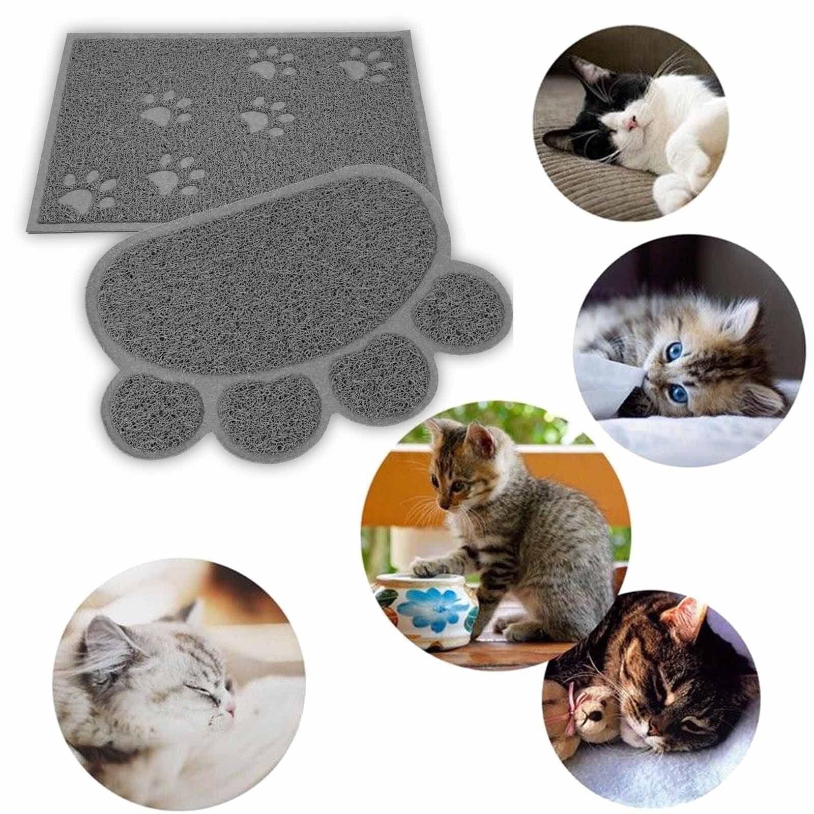 FDA Grade Dog Feeding Silicone Waterproof Pet Food Mat Non-Slip Bowl Placemat-US