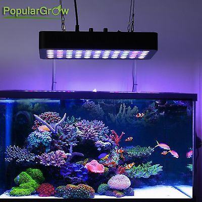 Dimmable 165W WIFI LED Aquarium Light Full Spectrum Tank Coral Lamp US Stock