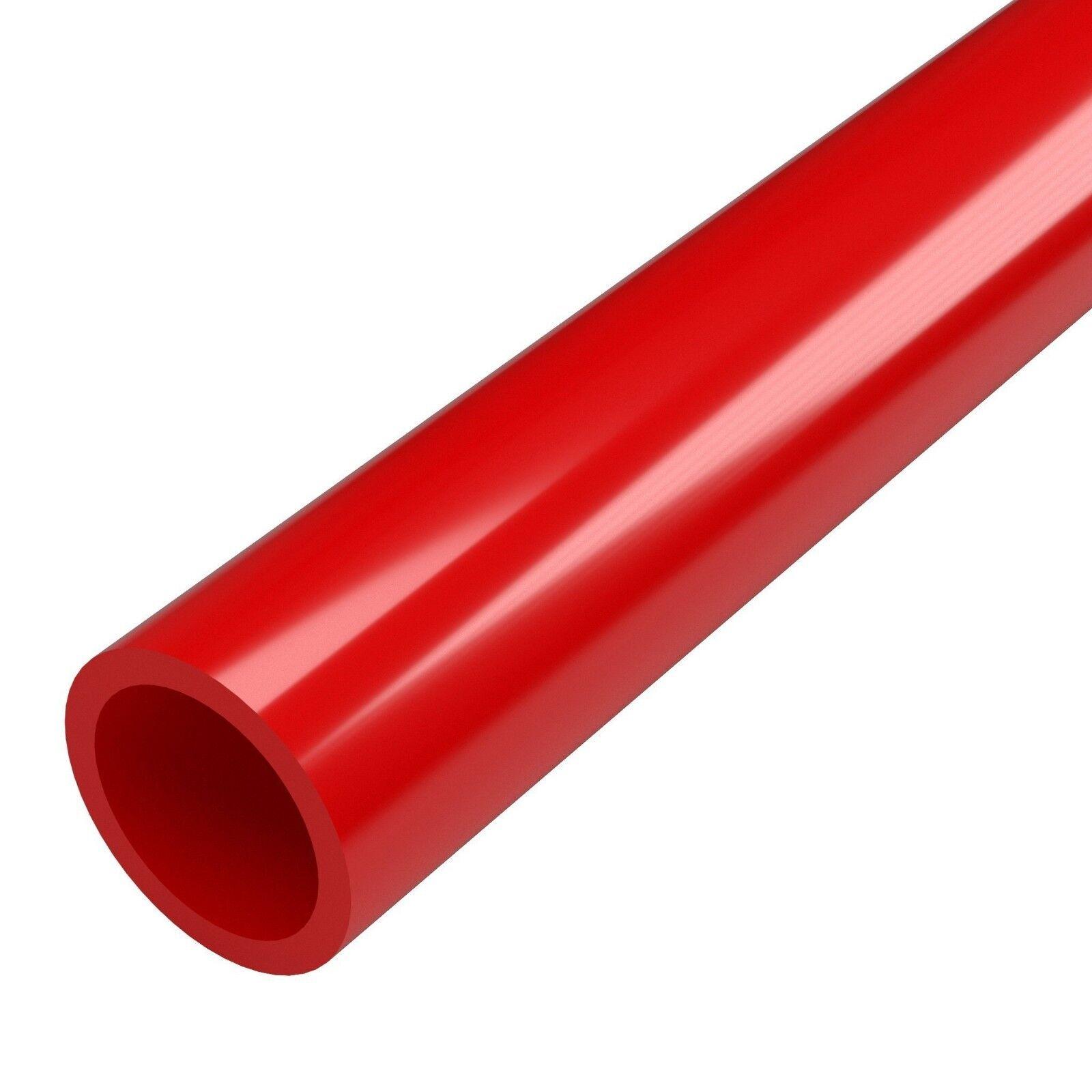 """FURNITURE GRADE COLORED 1 1/2"""" PVC PIPE SCHEDULE 40"""