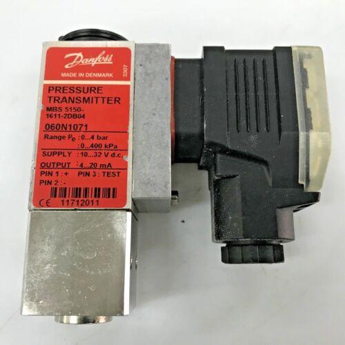 DANFOSS MBS5150-1611-2DB04 060N1071 Pressure Transmitter 4 bar Flange Mounted