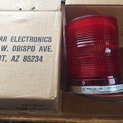 Tomar Strobe Light Red 12-28vdc 8241228r New