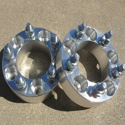 """(2) 1.50"""" 38mm Wheel Spacers 5x4.5 HUBCENTRIC Adapters 5lug Fits Dodge Chrysler"""