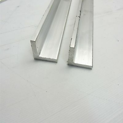 .375 Thick Aluminum 2 X 2 Angle 62.875 Long Qty 2 Sku 106074
