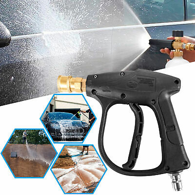 High Pressure Power Washer Gun Water 4000 PSI 5-color Nozzles Tips Best (Best Pressure Washer Gun)