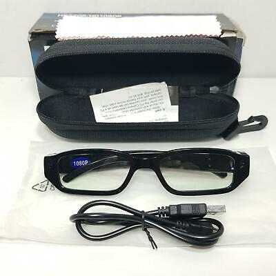 Mini HD 1080P/720P GLASSES SPY CAMERA 32GB Hidden recorder Eye wear DVR Video, used for sale  Shipping to Nigeria
