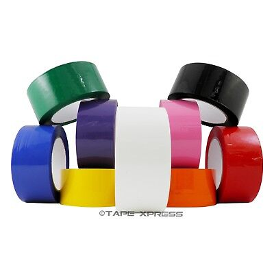 2 X 110 Yd 1 Roll Packing Tape Carton Sealing Several Colors - Free Shipping