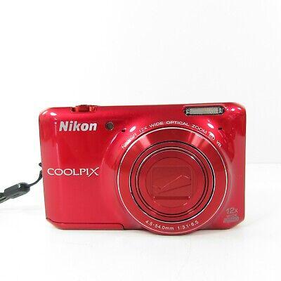 Nikon COOLPIX S6400 16.0MP Digital Camera - Red