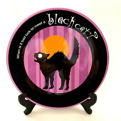 When Is A Halloween (Dept.56 Black Cat When is it bad luck to meet a Black Cat When When Your A)