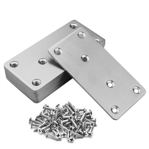 10 Pack Flat Mending Plate 201 Stainless Steel Straight Steel Brace