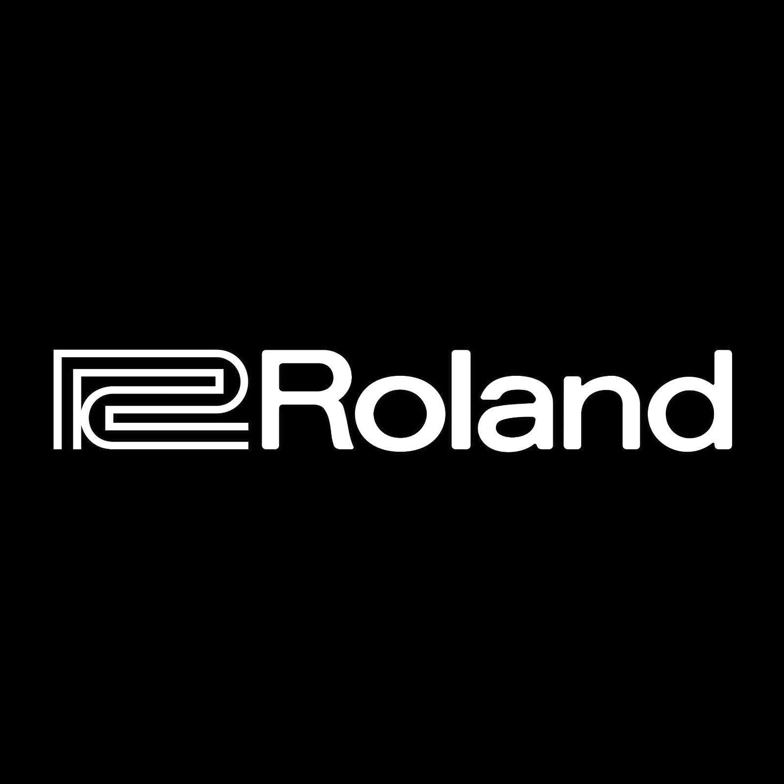 Home Decoration - 2X Roland vinyl sticker decals logo