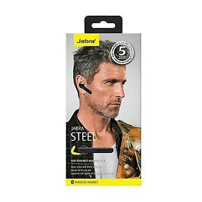 Jabra Steel  Wireless Bluetooth Headset - Black