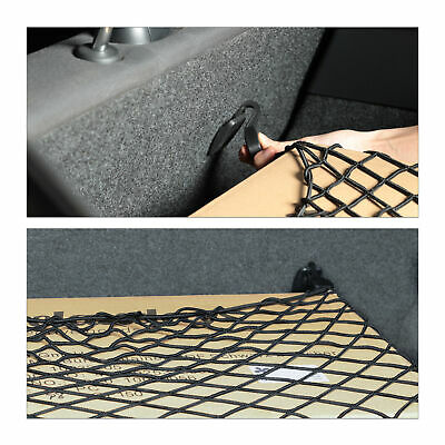 Gepäcknetz Auto, Kofferraumnetz elastisch, Autonetz universal, Spannnetz PKW