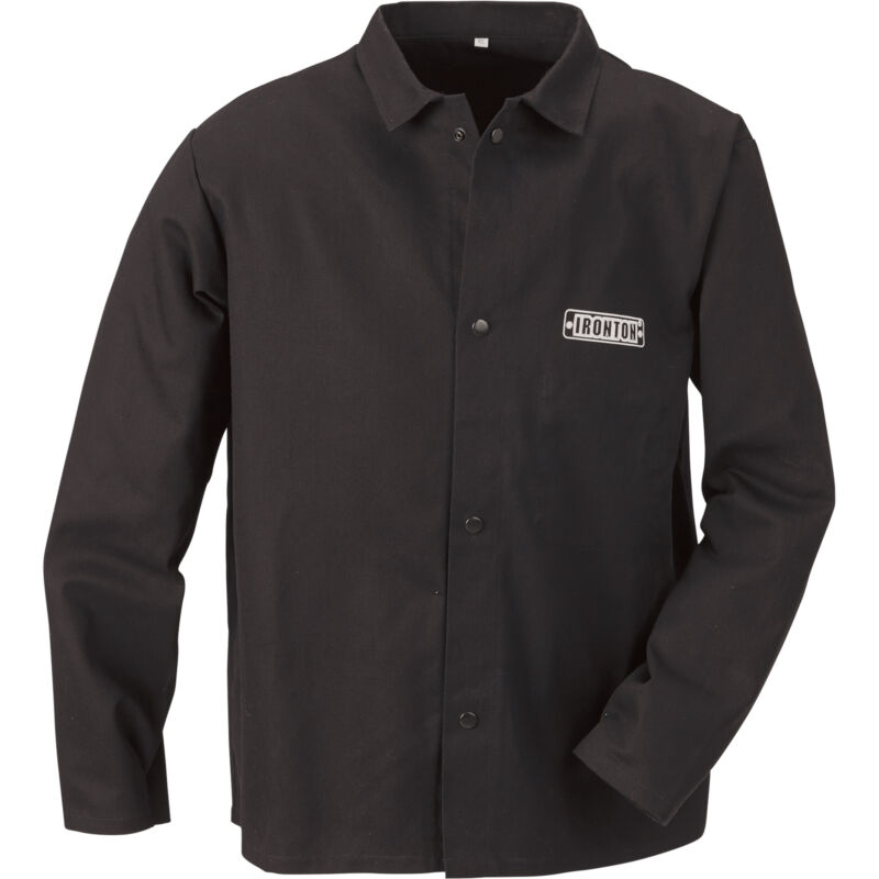 Ironton Flame-Resistant Welding Jacket-2XL, Black