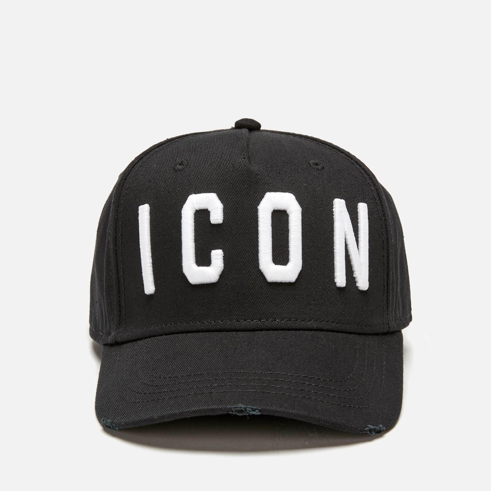 bbef92534 Details about Dsquared2 ICON Black Snapback Baseball Cap ONE SIZE Men &  women Unisex Hat (W)