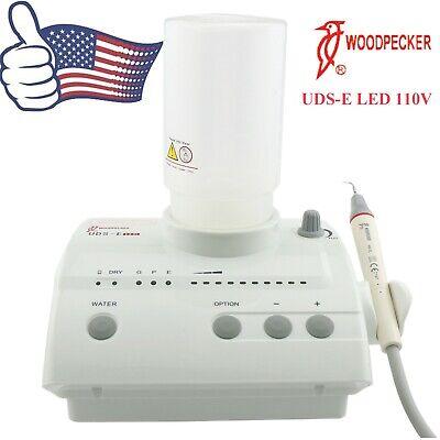Us Woodpecker Dental Endo Ultrasonic Scaler 110v Uds-e Led Hw-5l Handpiece Ems
