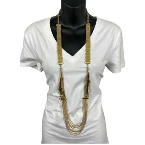 Cabi Gold Cabi Riviera Necklace Convertible Chain And Bracelet