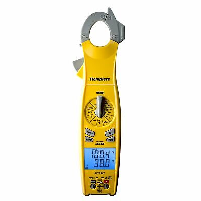 Fieldpiece Sc640 True Rms Clamp Meter With Swivel Head