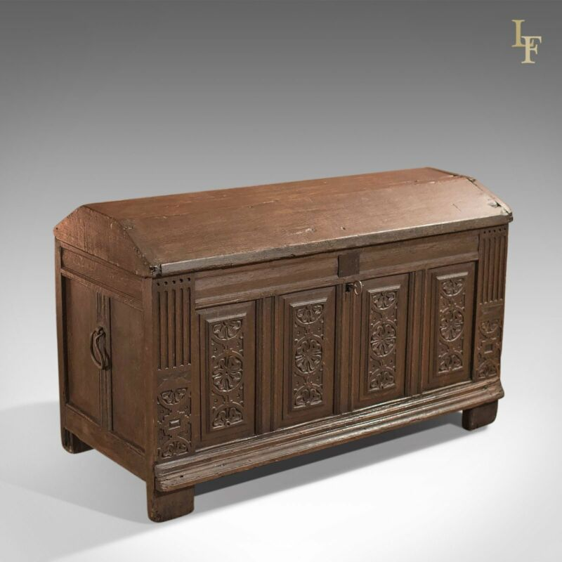 Antique Chest, Ships Trunk c.1700