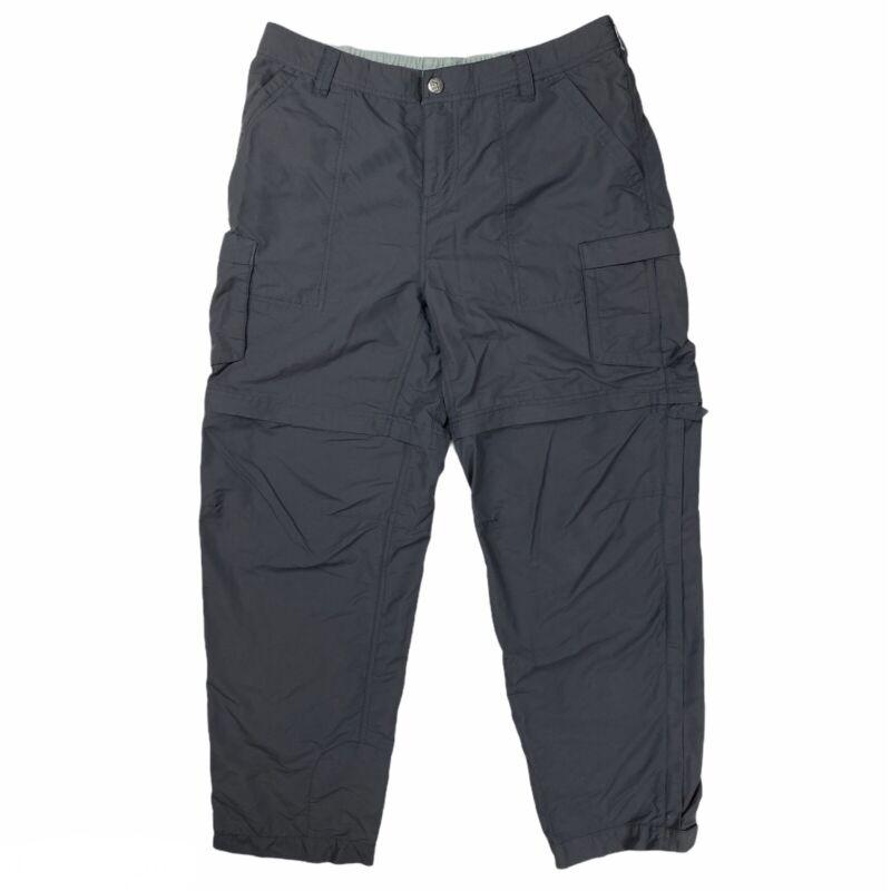 REI Convertible Zip Off Nylon Shell Hiking Pants Women