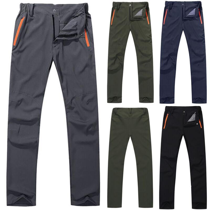 Men Women Outdoor Hiking Quick Dry Trousers Windproof Waterp
