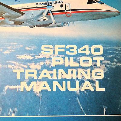 SAAB SF340 Pilot Training Manual | Wundr-Shop