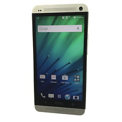 HTC One M7 32GB PNO7120 (AT&T) Android Smartphone (B-366)