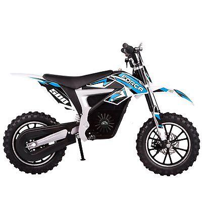 FORÇA Motocross Elektro Dirtbike 500W Deluxe Elektrobike Pitbike Cross Pocket