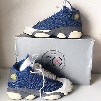 Nike air Jordan 13 Retro Blue UK5.5 Boy Trainers