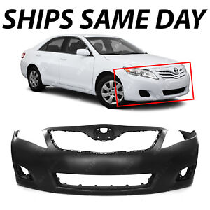 NEW Primered - Front Bumper Cover Fascia for 2010 2011 Toyota Camry Sedan 10 11