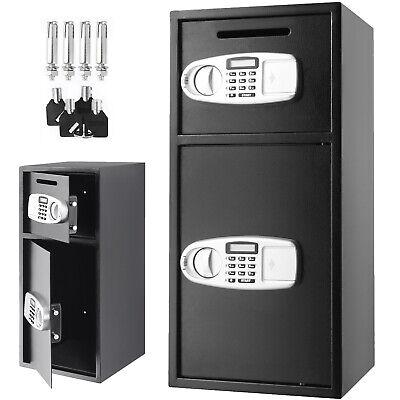 Caja de Seguridad Fuerte Digital Electrónica Caja Fuerte de Acero 75x34x34CM