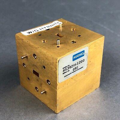 Hughesmillitech 45392h-1200 Matched Hybrid Tee Wr-22 33-48 Ghz 0.5 Db Balance