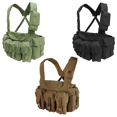 Condor CR 7 Pocket Padded 5.56/.223 Chest Rig Hunting Range Adjustable Tactical