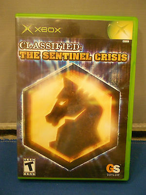 Classified The Sentinel Crisis  Game XBox
