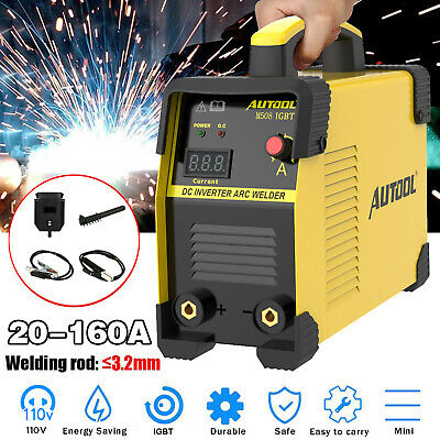 110v 160a Electric Welding Machine Mma Arc Igbt Dc Diy Stick Welder Inverter Us